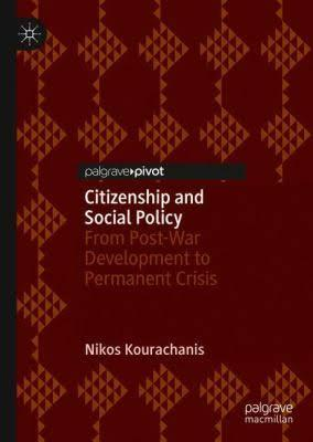 Βιβλίο Citizenship and Social Policy